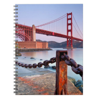 Sunrise At Fort Point Notebook