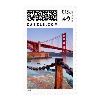 Sunrise At Fort Point Postage Stamp