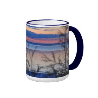Sunrise at Founder s Landing Coffee Mug