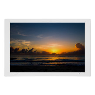 Sunrise at Ft. Lauderdale, Florida Poster