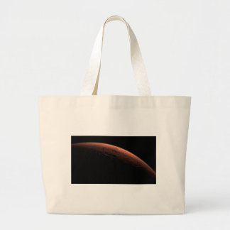 Sunrise at Gale Crater Planet Mars Canvas Bags