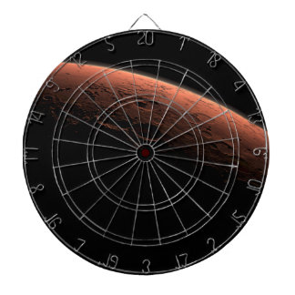 Sunrise at Gale Crater Planet Mars Dart Board