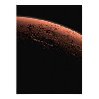 Sunrise at Gale Crater Planet Mars Custom Invite