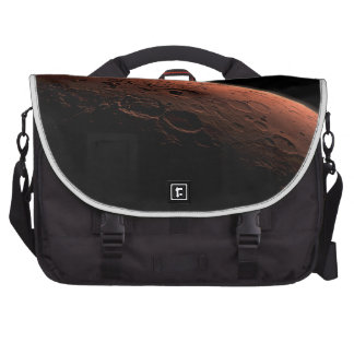 Sunrise at Gale Crater Planet Mars Laptop Messenger Bag