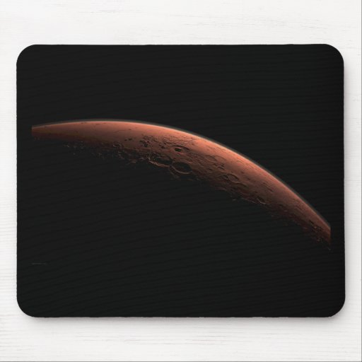 Sunrise at Gale Crater Planet Mars Mouse Pads