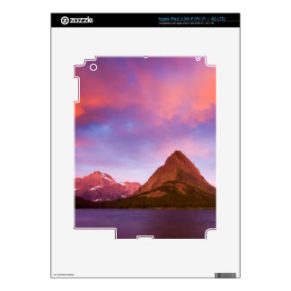 Sunrise at Glacier Decal For iPad 3