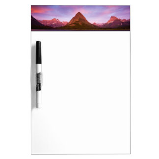 Sunrise at Glacier Dry-Erase Board