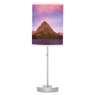 Sunrise at Glacier Table Lamp