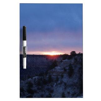 Sunrise at Grand Canyon Dry Erase White Board