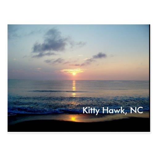 Sunrise At Kitty Hawk Postcards
