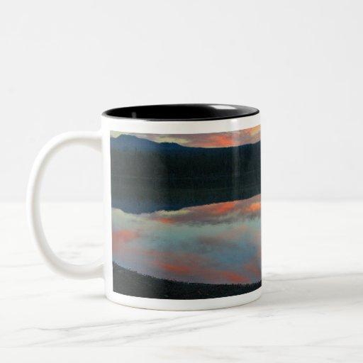 Sunrise at Little Lava Lake, Oregon Coffee Mug
