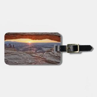 Sunrise at Mesa Arch, Canyonlands National Park Travel Bag Tags