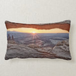 Sunrise at Mesa Arch, Canyonlands National Park Pillow