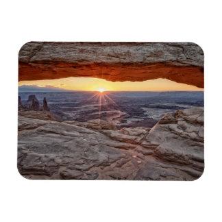 Sunrise at Mesa Arch, Canyonlands National Park Magnets