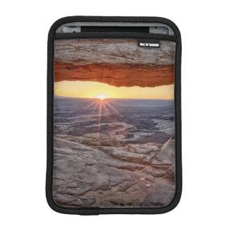 Sunrise at Mesa Arch, Canyonlands National Park Sleeve For iPad Mini