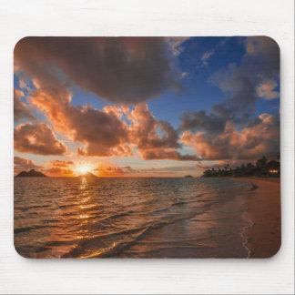 Sunrise At Mokulua Island Mouse Pad