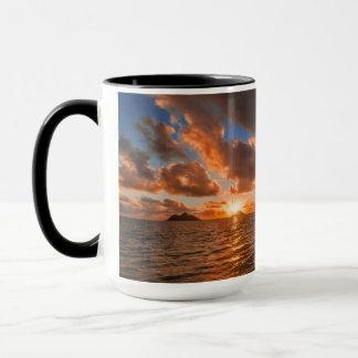 Sunrise At Mokulua Island Mug