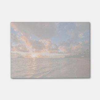 Sunrise At Mokulua Island Post-it® Notes