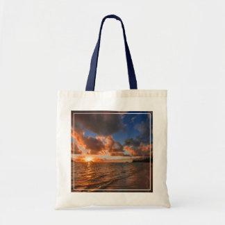 Sunrise At Mokulua Island Tote Bag