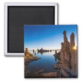 Sunrise at Mono lake, California Magnet