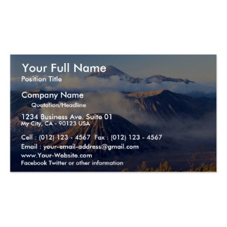 Sunrise at Mount Bromo, Java, Indonesia Business Card
