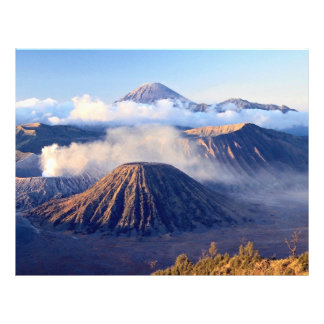 Sunrise at Mount Bromo, Java, Indonesia Personalized Flyer