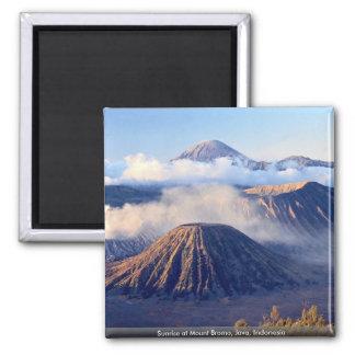 Sunrise at Mount Bromo, Java, Indonesia Fridge Magnets