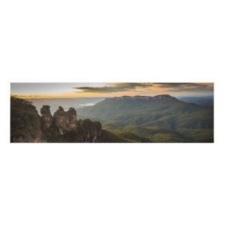 Sunrise at Mount Solitary Panel Wall Art