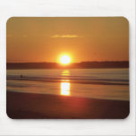 Sunrise at Old Orchard Beach, Maine Mouse Pad