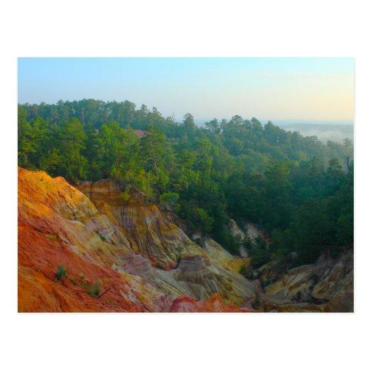 Sunrise at Red Bluff - Morgantown postcard