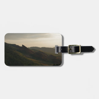 Sunrise at Red Rocks Colorado Bag Tag