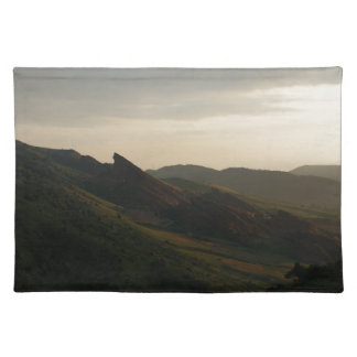 Sunrise at Red Rocks Colorado Cloth Placemat