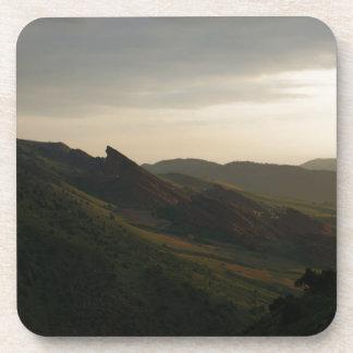 Sunrise at Red Rocks Colorado Drink Coaster