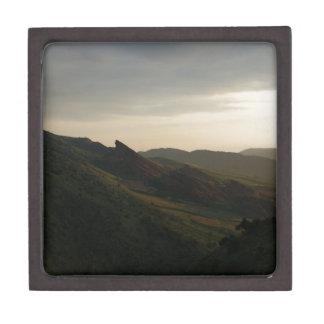 Sunrise at Red Rocks Colorado Gift Box