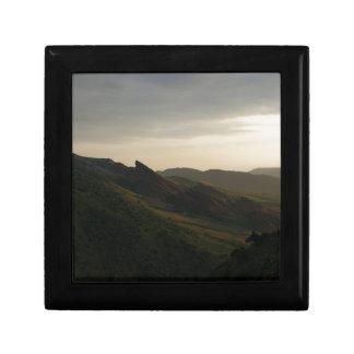 Sunrise at Red Rocks Colorado Jewelry Box