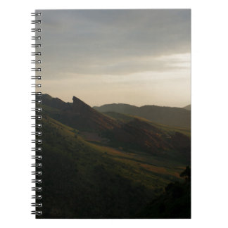 Sunrise at Red Rocks Colorado Notebook