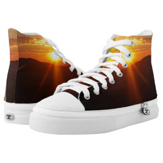 Sunrise At Red Rocks High-Top Sneakers