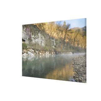 Sunrise at Roark Bluff, Steel Creek access, Canvas Print