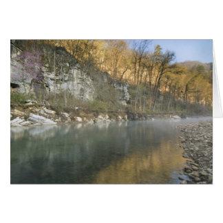 Sunrise at Roark Bluff, Steel Creek access, Card