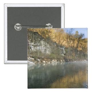 Sunrise at Roark Bluff, Steel Creek access, Pinback Button
