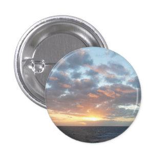 Sunrise at Sea I Pastel Seascape Button
