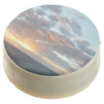 Sunrise at Sea I Pastel Seascape Chocolate Covered Oreo