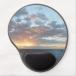Sunrise at Sea I Pastel Seascape Gel Mouse Pad