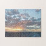 Sunrise at Sea I Pastel Seascape Jigsaw Puzzle