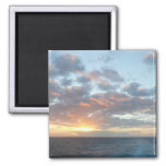 Sunrise at Sea I Pastel Seascape Magnet