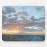 Sunrise at Sea I Pastel Seascape Mouse Pad