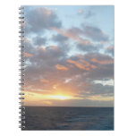 Sunrise at Sea I Pastel Seascape Notebook