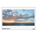 Sunrise at Sea I Pastel Seascape Wall Sticker
