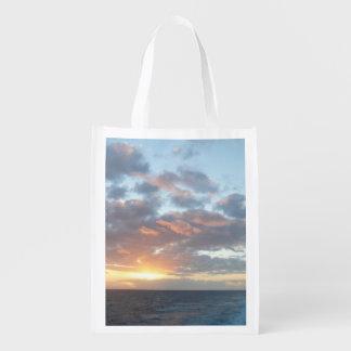 Sunrise at Sea I Reusable Grocery Bag