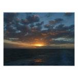 Sunrise at Sea II Beautiful Seascape Photographic Print